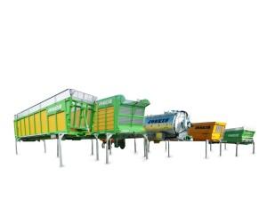 Cargo Aufbauten freigestellt