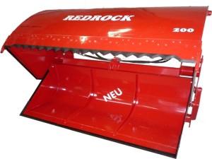 REDROCK-Schneidschaufel freigestellt